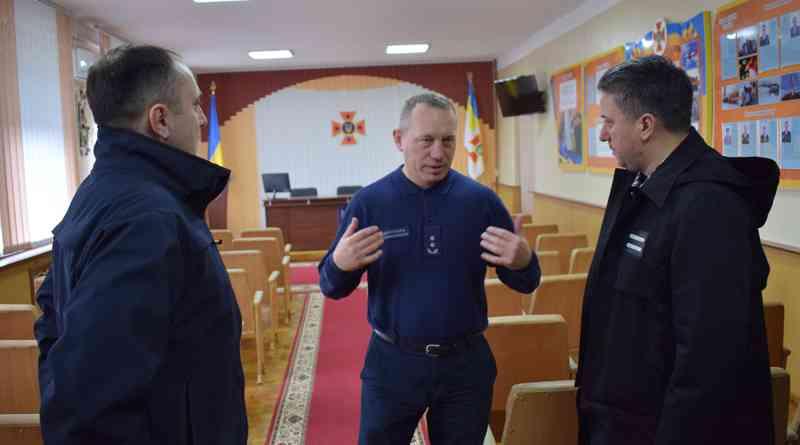Рівненські рятувальники створюють хаб для навчання пожежної безпеки (фото)