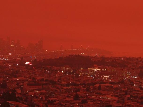 """Жахаючі фото"""": через пожежі штат Орегон перетворився в пекло -  Інтернет-видання """"Час-Дій"""""""