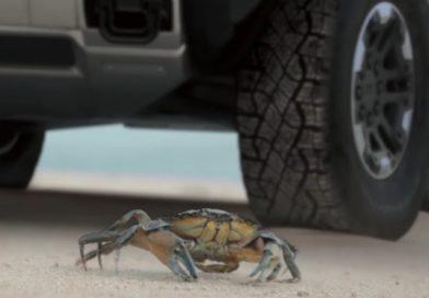 Hummer crabwalk